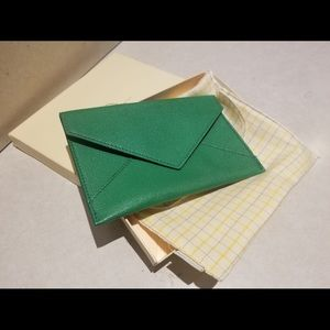 Graphic Image Medium Leather Envelope